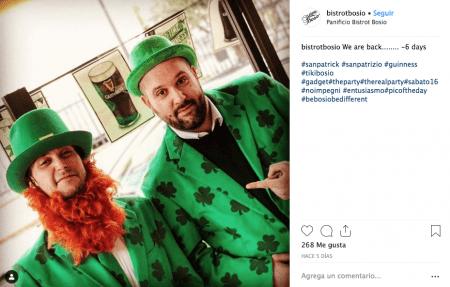 disfraz san patricio chistera verde