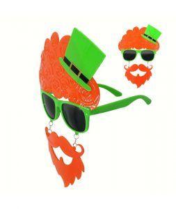 gafas irlandés día de san patricio