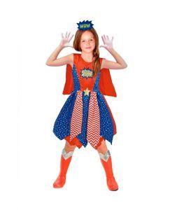 disfraz de superheroína para madres e hijos el día de la madre