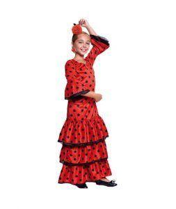 disfraz de sevillana infantil para la feria de abril