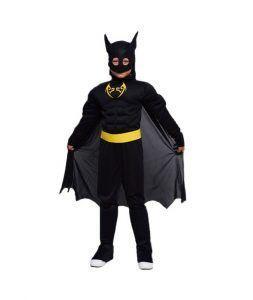 disfraz de batman para madres e hijos el día de la madre