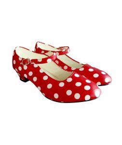 accesorios disfraz para la feria de abril zapatos de lunares