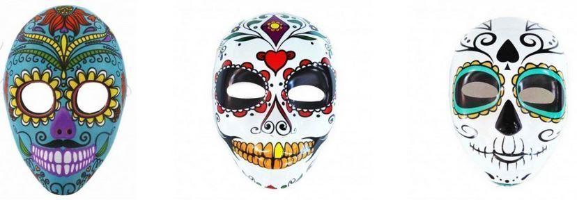 diseño mascara catrina manualidades