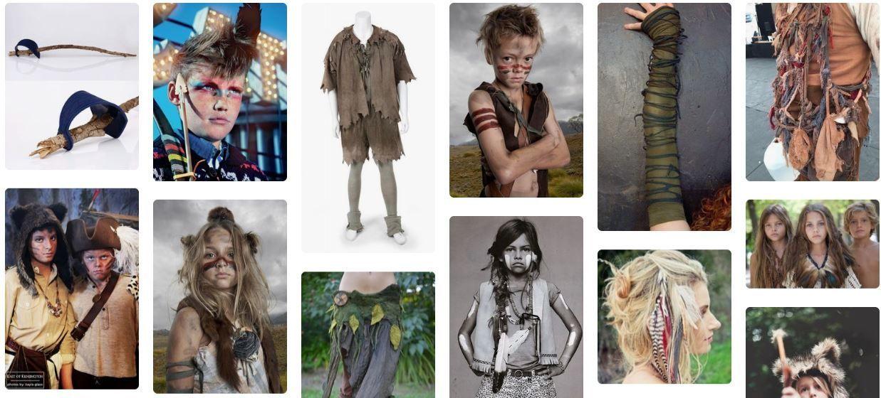 Ideas Disfraces niños perdidos casero
