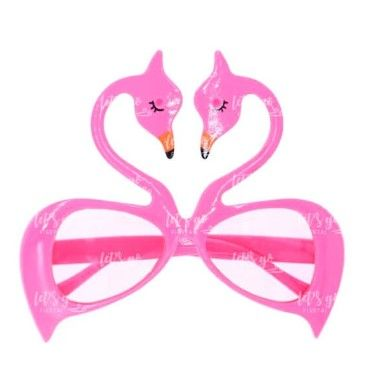 gafas flamingo rosa mate