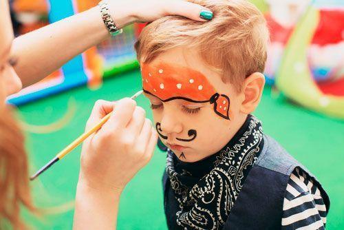 Pintacaras Pirata infantil