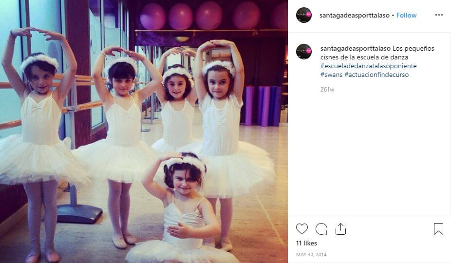 bailarinas ballet fin de curso