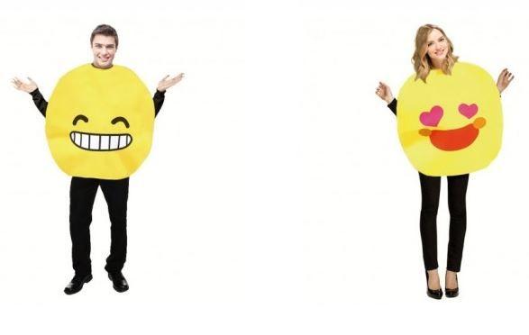 disfraces de emoji pareja despedidas mixtas