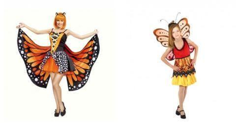disfraces mariposa final de curso