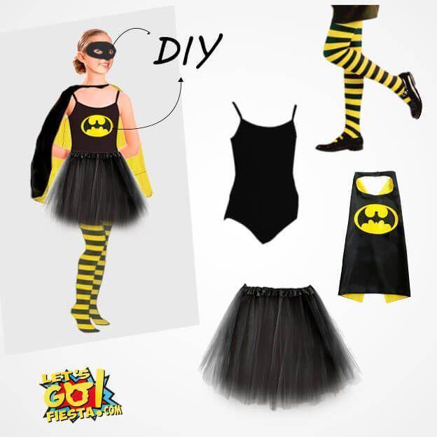 disfraz batman niña maillot