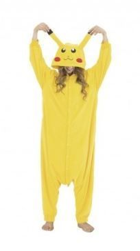 disfraz pikachu unisex