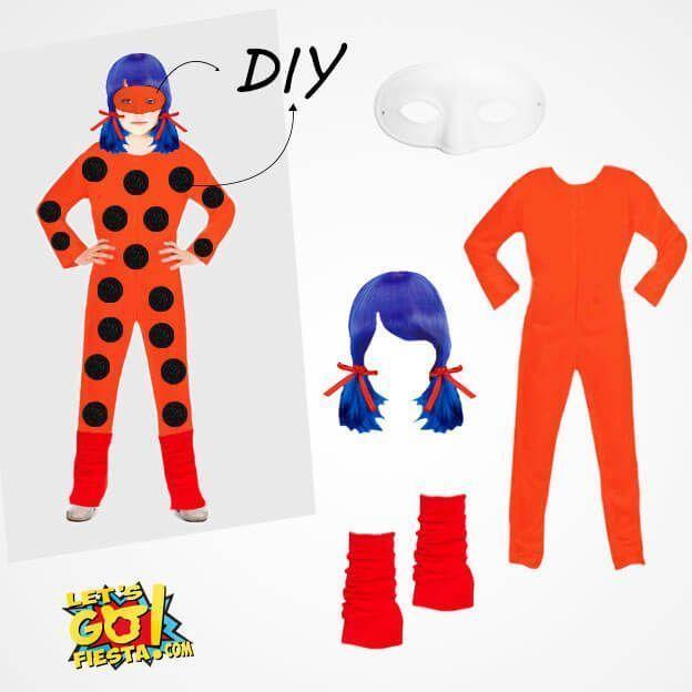 disfraz ladybug casero con mono maillot