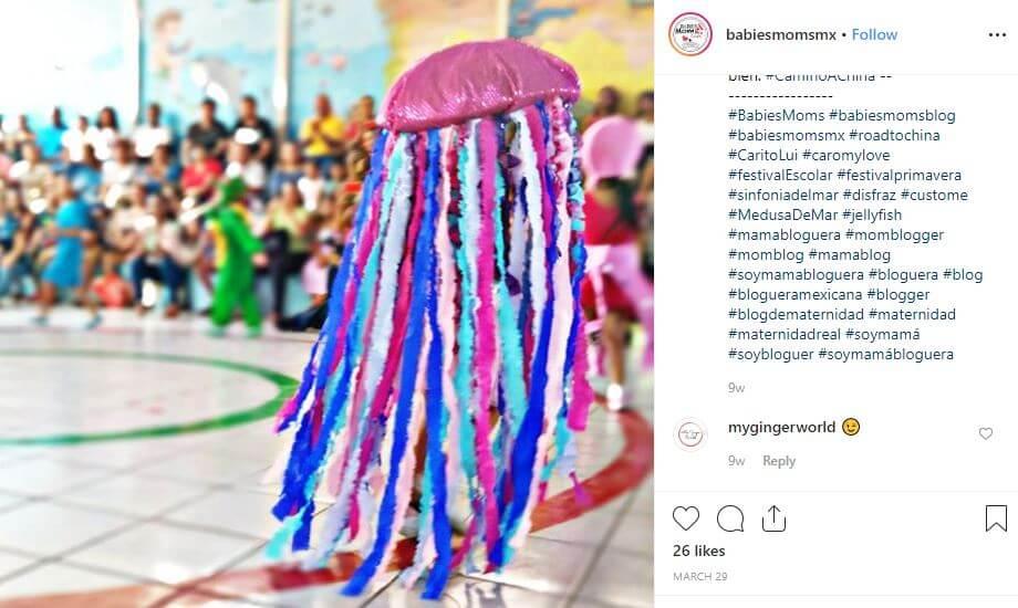 disfraz medusa casero fin de curso