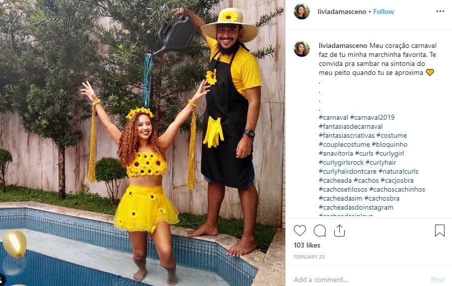 disfraz pareja despedida pool party
