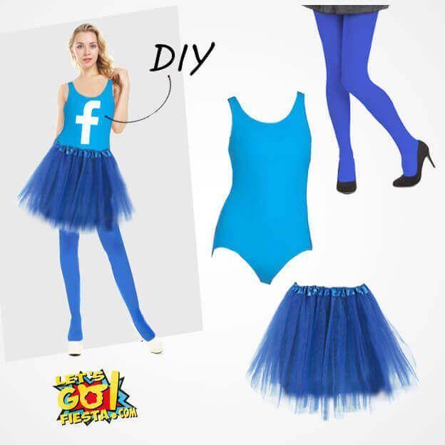 disfraz redes sociales maillot azul
