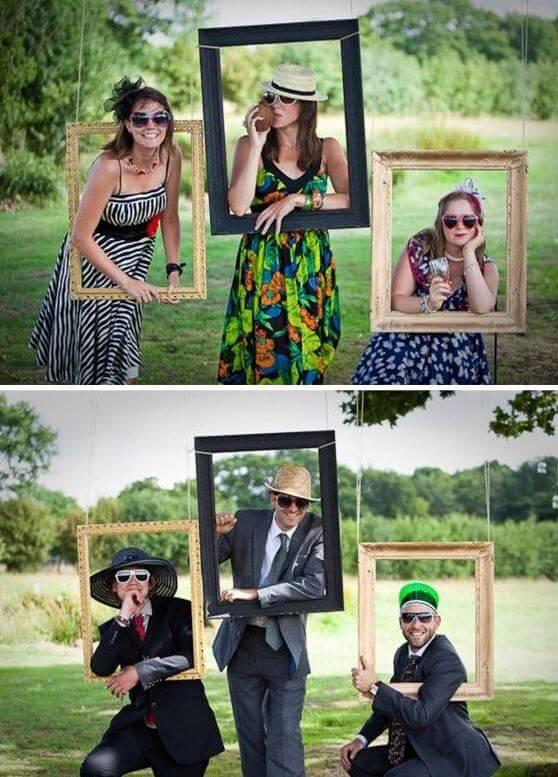 marcos y atrezzo bodas photocall