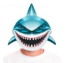 mascara tiburon disfraz
