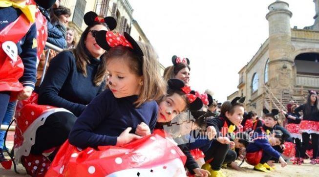 mono maillot negro colegios carnaval ciudad rodrigo