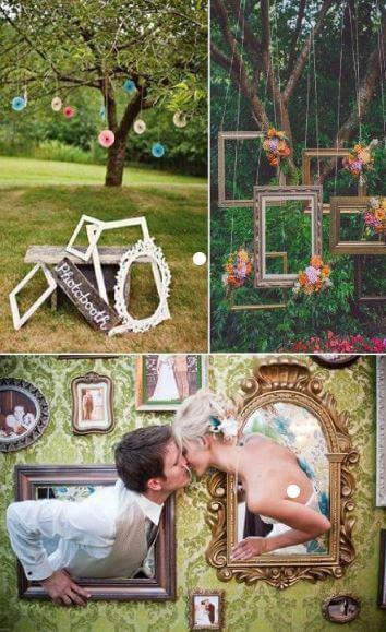 pinterest marcos cuadros para photocall bodas