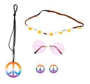 conjunto accesorios hippies