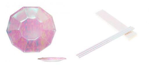 decoracion rosa holograma