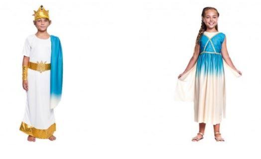 disfraces frescos verano griegos niños