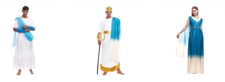 disfraces griego frescos
