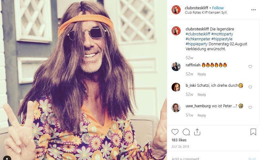 idea disfraz fiesta hippie