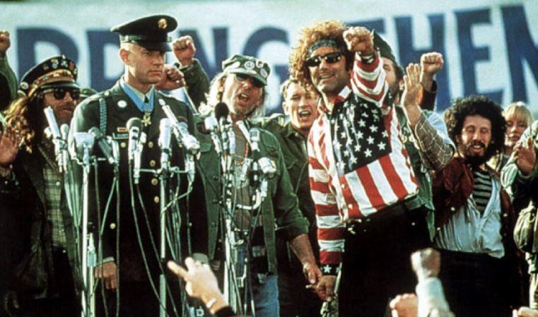 look hippie militar forrest gump