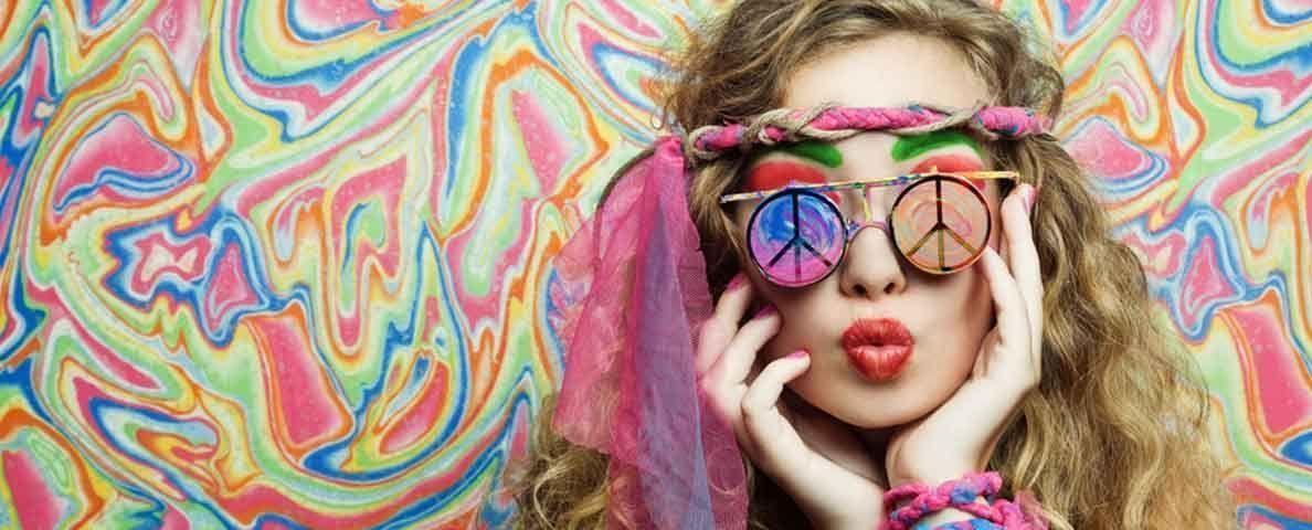 organizar fiesta tematica hippie
