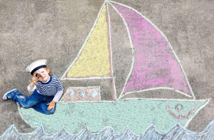 actividades pintar fiesta marinera niños