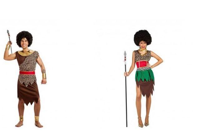 disfraces africanos adulto