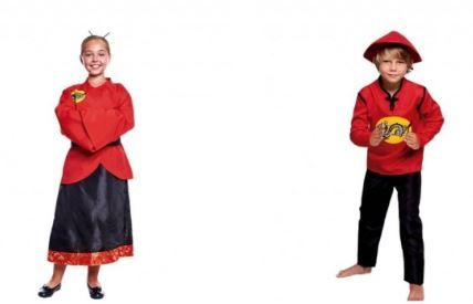 disfraces chinos infantiles
