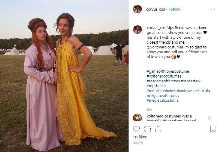 disfraces medievales mujer juego tronos