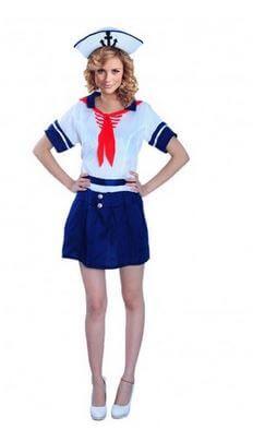 disfraz marinera chica