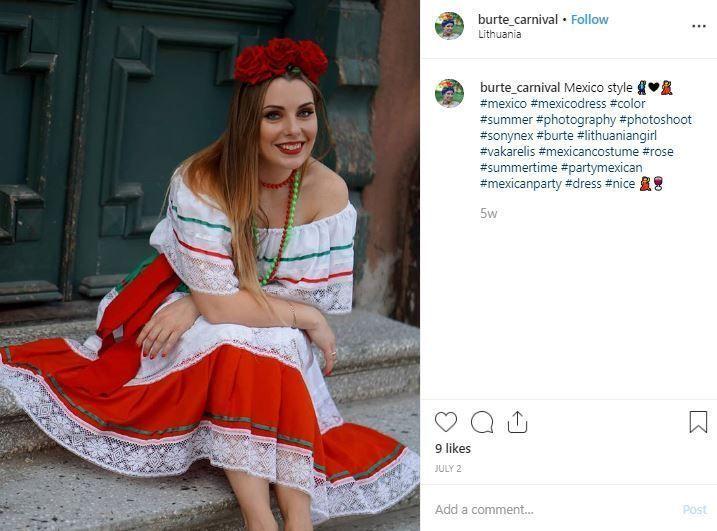 disfraz mexicana mujer