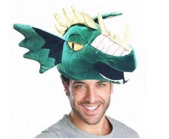 gorro de dragon esponja