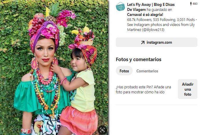 inspiracion disfraz brasileña