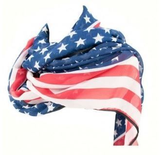 pañuelo bandera americana