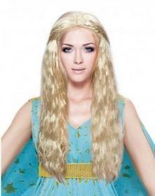 peluca daenerys rubia