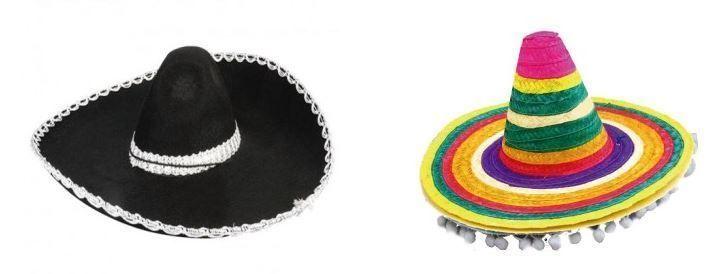 sombreros mejicanos disfraz