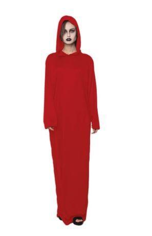 tunica roja disfraz