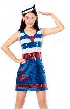 vestido marinera