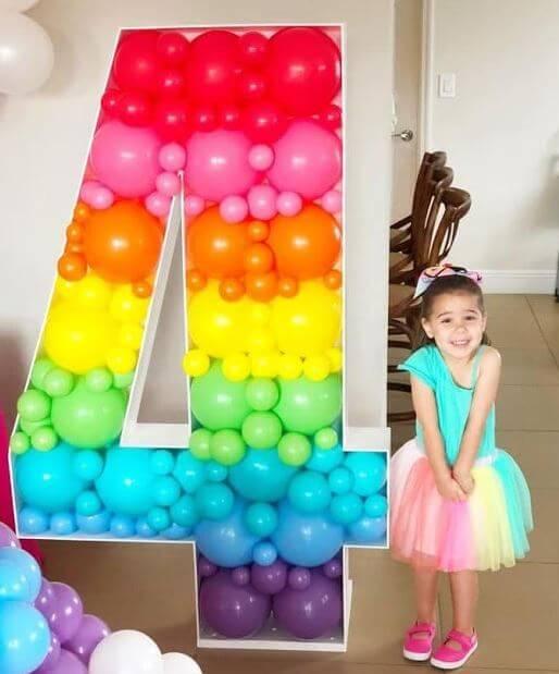 blog masymasmanualidades decoracion cumpleaños globos