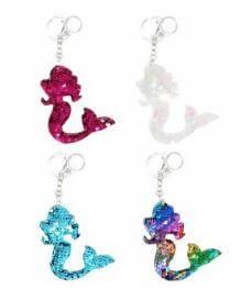 llaveros mermaid sirenas lentejuelas