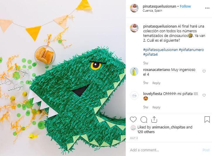 pinatasqueilusionan piñata numeros