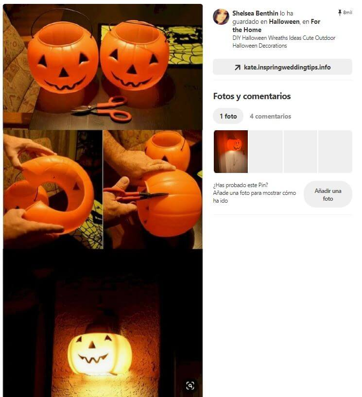 decoracion fiesta halloween calabaza