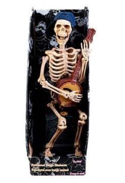 esqueleto juguete cantarin