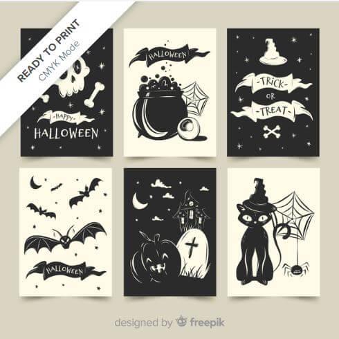 invitacion halloween freepik