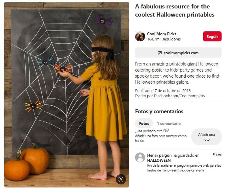 juego fiesta de halloween